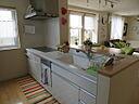 2階オーナー住居キッチン