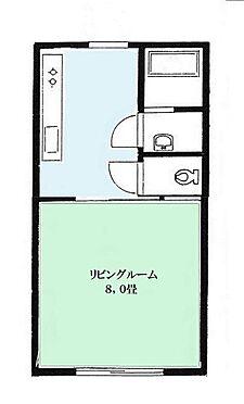 アパート-胎内市つつじが丘 地型図