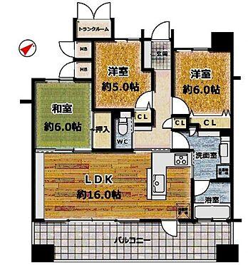 区分マンション-東海市横須賀町狐塚 収納スペース豊富な間取り。リノベーションにより間取り変更も可能です!