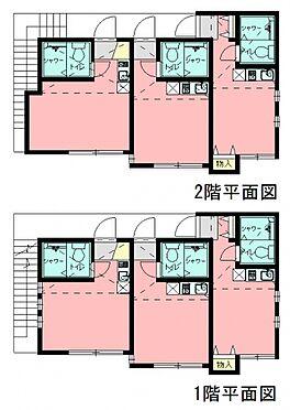 アパート-横浜市鶴見区上末吉2丁目 間取り