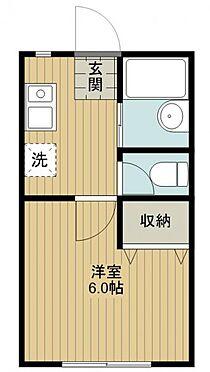 アパート-千葉市中央区宮崎町 間取り