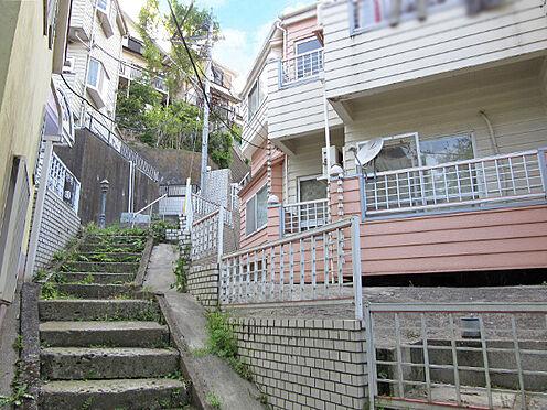 アパート-横浜市中区本牧町1丁目 前面道路