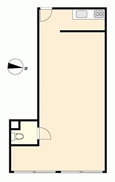 店舗事務所(建物一部)-松戸市稔台 間取り