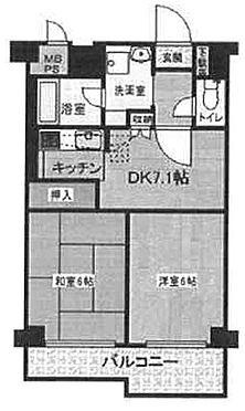 マンション(建物一部)-墨田区緑3丁目 間取り