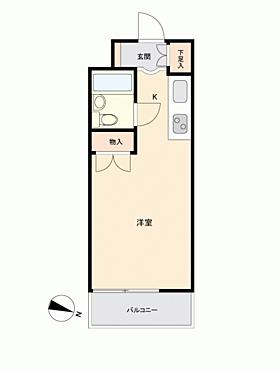 区分マンション-金沢市宝町 間取り