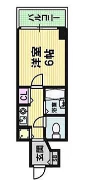 区分マンション-大阪市中央区南船場1丁目 間取り
