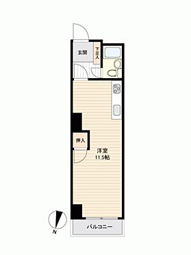マンション(建物一部)-福岡市中央区大名2丁目 間取り