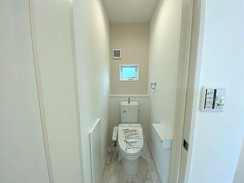 戸建賃貸-八王子市松木 2階トイレ