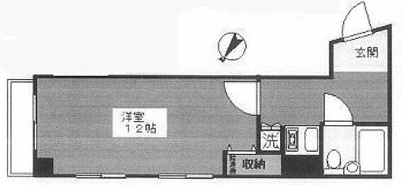 マンション(建物一部)-豊島区巣鴨3丁目 間取り
