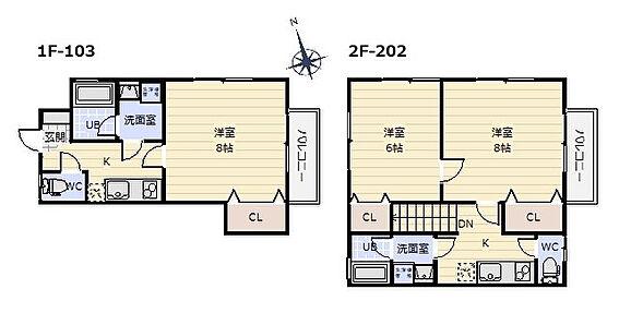アパート-塩竈市舟入1丁目 間取り