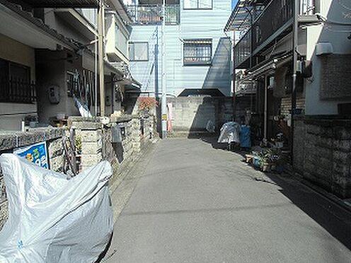 旅館-京都市右京区西院西平町 前面道路