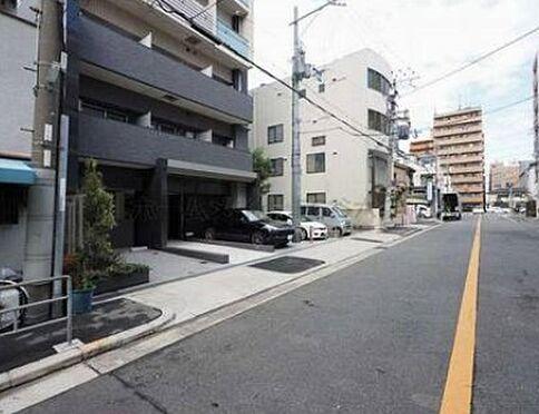 中古マンション-大阪市東成区東小橋1丁目 前面道路です