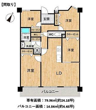 区分マンション-豊田市中田町西山 オープンでのびやかな空間を生み出す、こだわりの広がりとゆとり。家族と過ごす時間を大切にしたい方にぴったりの明るい空間です!