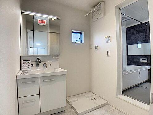 新築一戸建て-名古屋市天白区海老山町 三面鏡付き洗面台