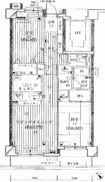 マンション(建物一部)-横浜市保土ケ谷区上星川3丁目 間取り