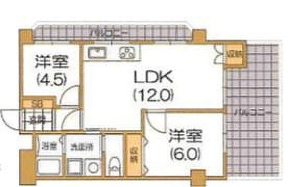 マンション(建物一部)-神戸市垂水区千代が丘2丁目 二面バルコニーを備えた開放的な住まい