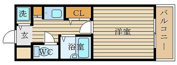 マンション(建物一部)-大阪市西区本田4丁目 間取り