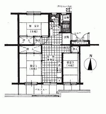 マンション(建物一部)-東久留米市滝山6丁目 間取り