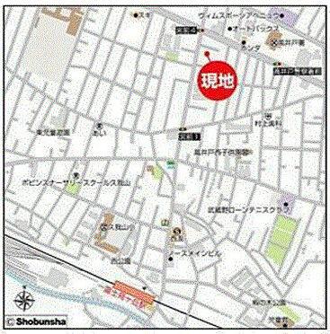 店舗事務所(建物一部)-杉並区宮前1丁目 地図