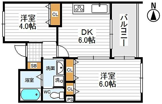 区分マンション-大阪市東成区玉津2丁目 間取り