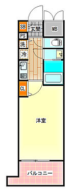 区分マンション-大阪市北区西天満1丁目 図面より現況を優先します。