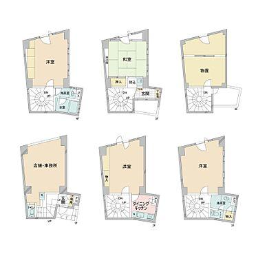 ビル(建物全部)-台東区根岸1丁目 1階 店舗・事務所×1戸 2〜6階 住居×1戸