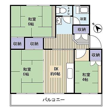 中古マンション-千葉市美浜区高洲2丁目 使いやすい間取です!