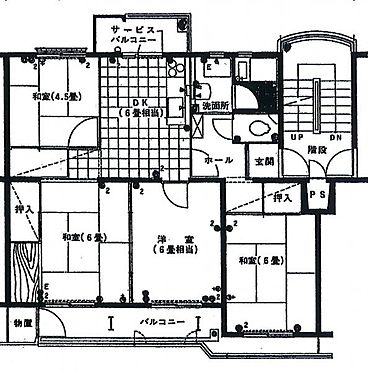 マンション(建物一部)-香芝市上中 間取り