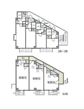 マンション(建物全部)-渋谷区幡ヶ谷3丁目 間取り