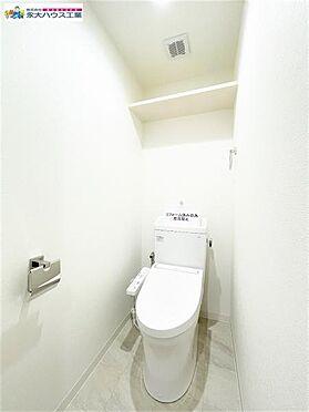 区分マンション-仙台市太白区富沢2丁目 トイレ