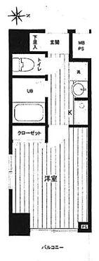 区分マンション-大阪市福島区海老江2丁目 間取り