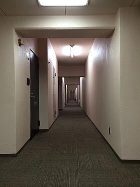 マンション(建物一部)-豊島区東池袋4丁目 共用廊下は敷き込みカーペットとなり、足音を吸収しております