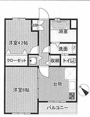 中古マンション-横浜市鶴見区寺谷1丁目 間取り