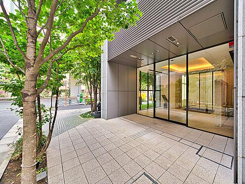 中古マンション-品川区西五反田3丁目 緑溢れた高級感のあるエントランス