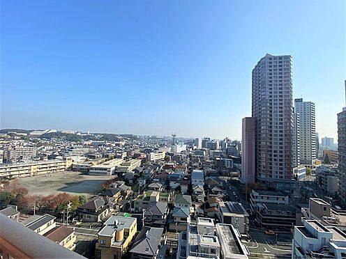 中古マンション-相模原市緑区橋本6丁目 東側バルコニーからの眺望