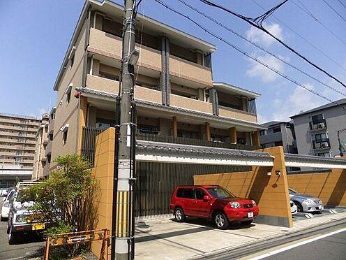 マンション(建物一部)-京都市中京区壬生朱雀町 和風でお洒落な外観。