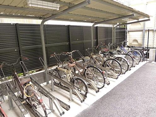 マンション(建物全部)-川口市芝新町 屋根付駐輪場になります。