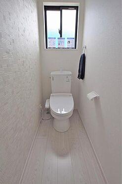 新築一戸建て-仙台市青葉区貝ケ森2丁目 トイレ