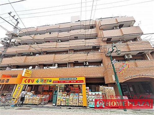 マンション(建物一部)-葛飾区お花茶屋1丁目 にぎやかな駅前商店近くにあります。マンションの下には、薬局とすーぱースーパーがあり買い物便利です。