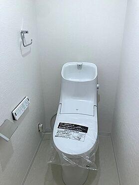 中古マンション-越谷市登戸町 トイレ