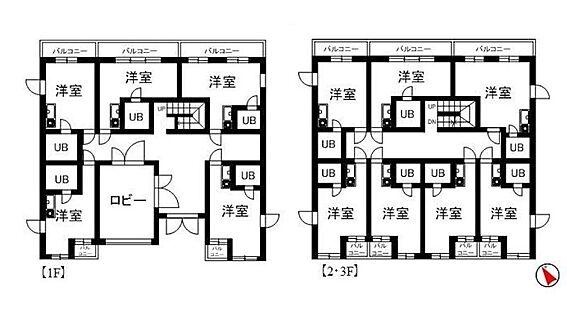 マンション(建物全部)-鶴ヶ島市大字鶴ヶ丘 間取り