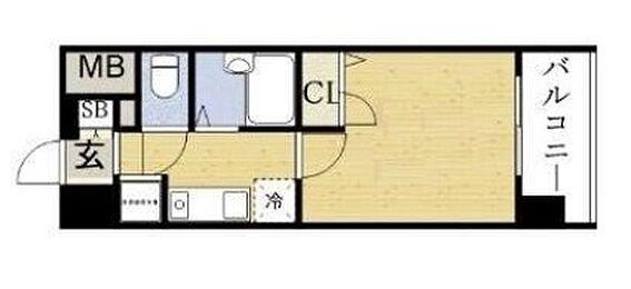 マンション(建物全部)-大阪市都島区東野田町5丁目 水まわりをコンパクトにまとめた暮らしやすいプラン