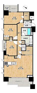 中古マンション-名古屋市名東区社台3丁目 納戸付きの3LDKでご家族世帯にも嬉しい間取り♪