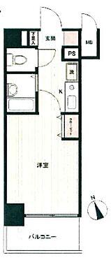 マンション(建物一部)-京都市下京区松原中之町 バス、トイレ別の1K