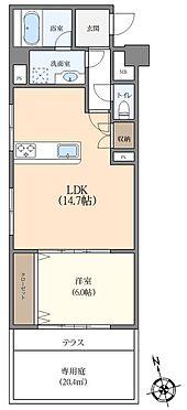 マンション(建物全部)-世田谷区上野毛4丁目 南側専用庭があり陽当たり良好