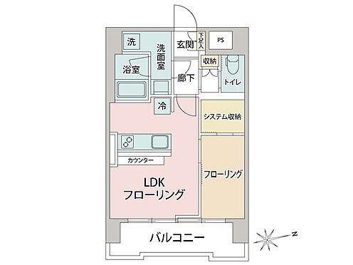 中古マンション-大田区蒲田5丁目 間取り