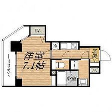 マンション(建物一部)-大阪市中央区常盤町1丁目 間取り