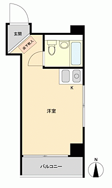 マンション(建物一部)-豊島区池袋3丁目 間取り