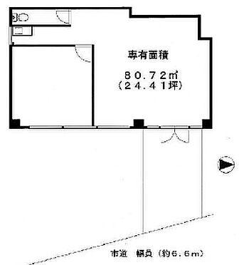 店舗事務所(建物一部)-東松山市若松町1丁目 間取り