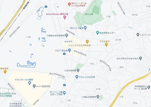 マンション(建物一部)-北九州市八幡東区白川町 地図